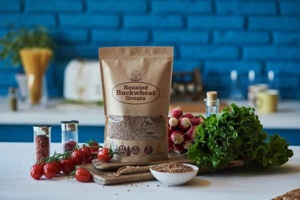 Roasted Buckwheat Groats on the table
